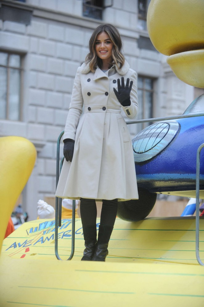 Lucy Hale: 2014 Macys Thanksgiving Day Parade -26