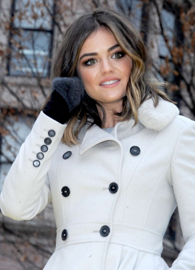 Lucy Hale: 2014 Macys Thanksgiving Day Parade -28