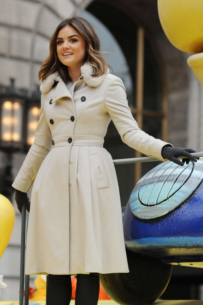 Lucy Hale: 2014 Macys Thanksgiving Day Parade -30