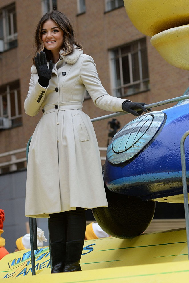 Lucy Hale: 2014 Macys Thanksgiving Day Parade -32