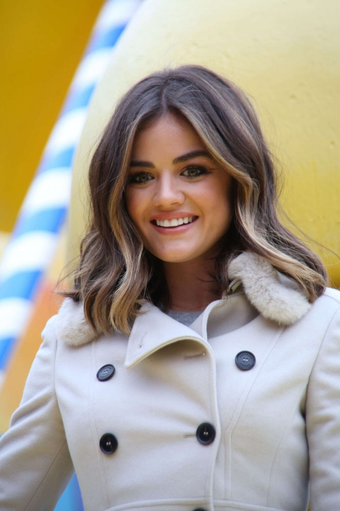 Lucy Hale: 2014 Macys Thanksgiving Day Parade -33