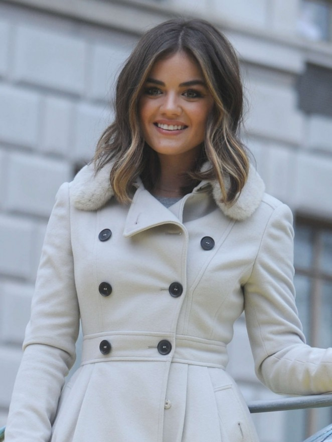 Lucy Hale: 2014 Macys Thanksgiving Day Parade -34