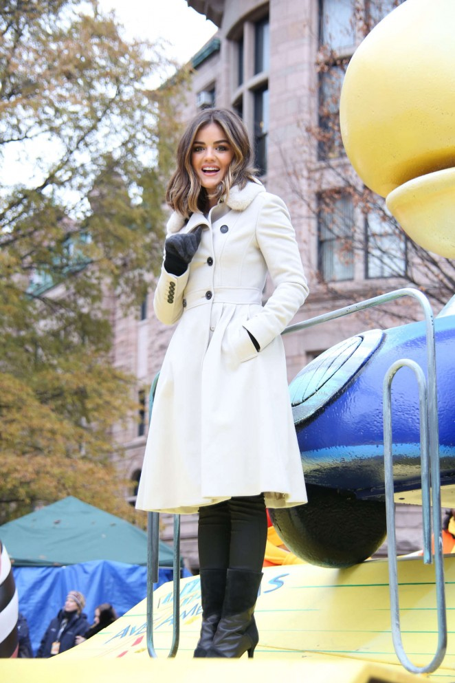 Lucy Hale: 2014 Macys Thanksgiving Day Parade -35