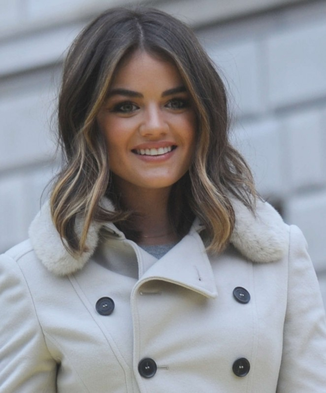 Lucy Hale: 2014 Macys Thanksgiving Day Parade -36