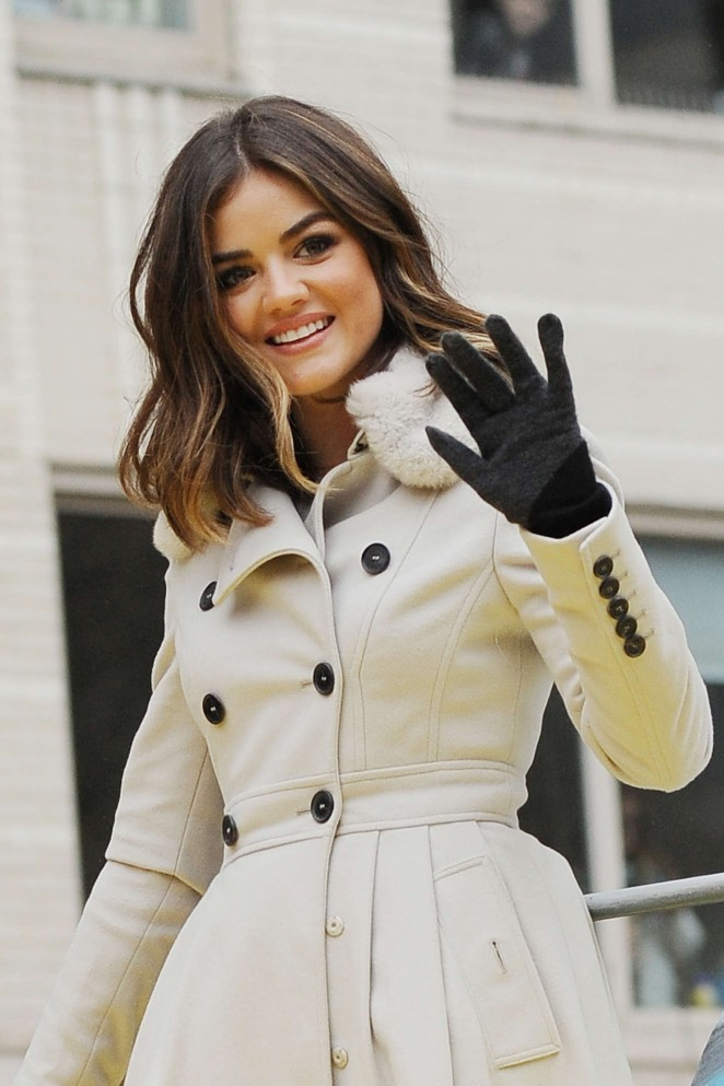 Lucy Hale: 2014 Macys Thanksgiving Day Parade -37