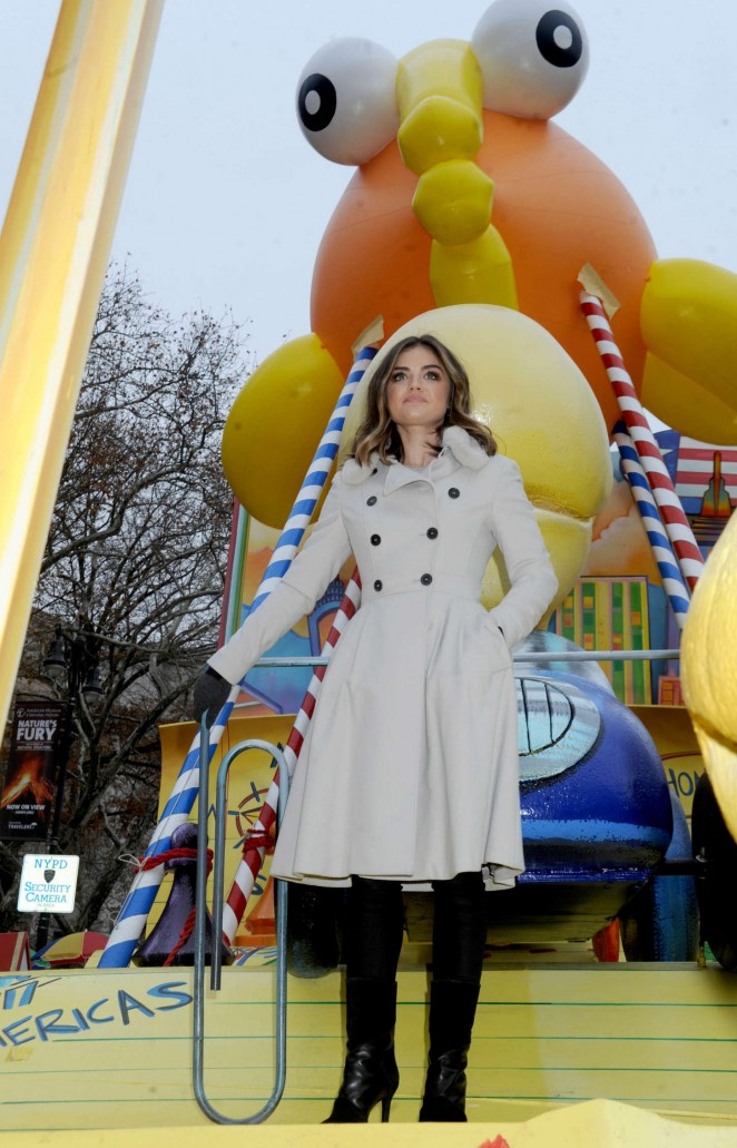 Lucy Hale: 2014 Macys Thanksgiving Day Parade -40