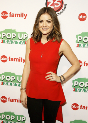Lucy Hale - ABC Family's '25 Days Of Christmas' Winter Wonderland Event in New York