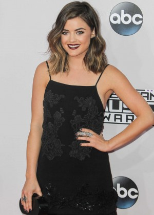 Lucy Hale - 2014 American Music Awards in LA