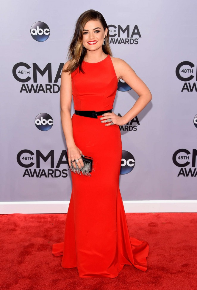 Lucy Hale - 48th Annual CMA Awards in Nashville