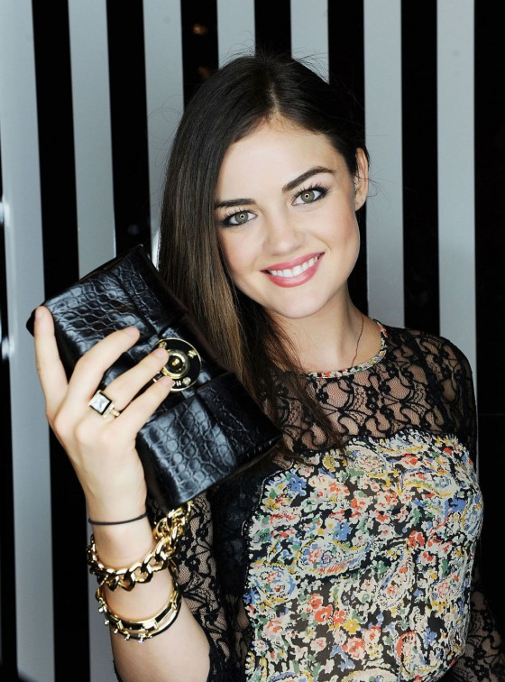 Lucy Hale leggy in mini dress-05