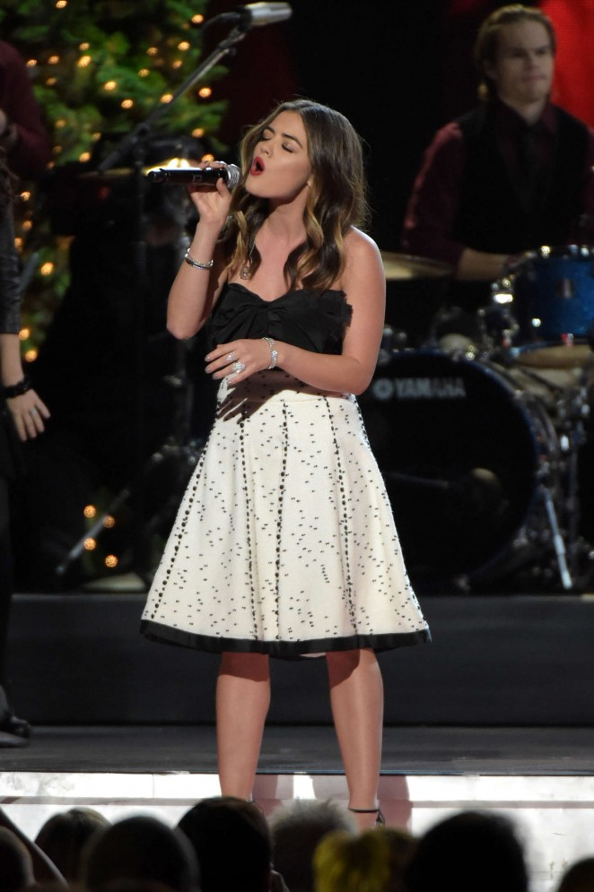 Lucy Hale - CMA 2014 Country Christmas in Nashville