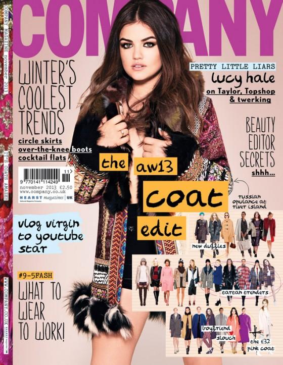 Lucy Hale: Company Magazine 2013 -01