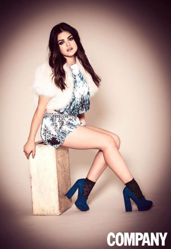 Lucy Hale: Company Magazine 2013 -02