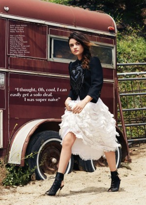Lucy Hale - Flare Canada Magazine (July 2014)