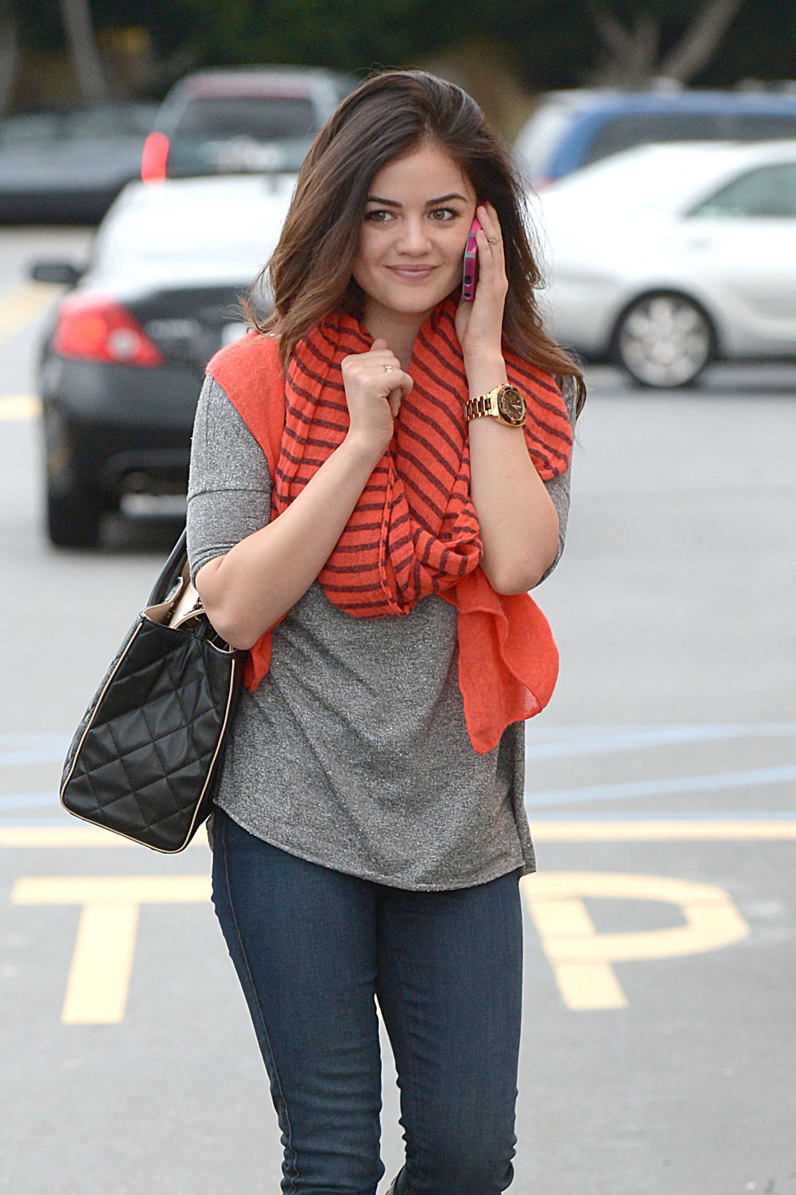Lucy Hale in Tight Jeans-04 - GotCeleb