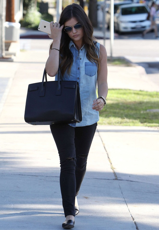 Lucy Hale in Tight Jeans -17 - GotCeleb