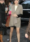 Lucy Hale - Leggy at the Rachael Ray Show in NYC