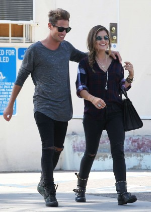 Lucy Hale With Boyfriend Out in Los Angeles