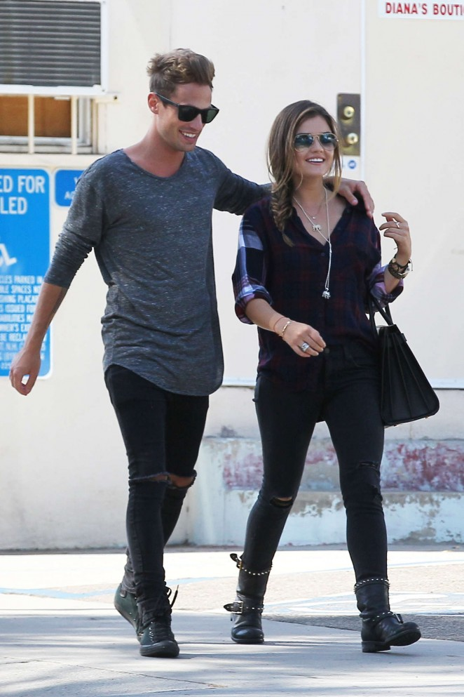 Lucy Hale – Out and about in Los Angeles