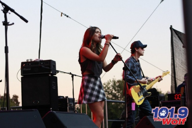 Lucy Hale - Performs at the 2014 Wolf Fest in Sacramento