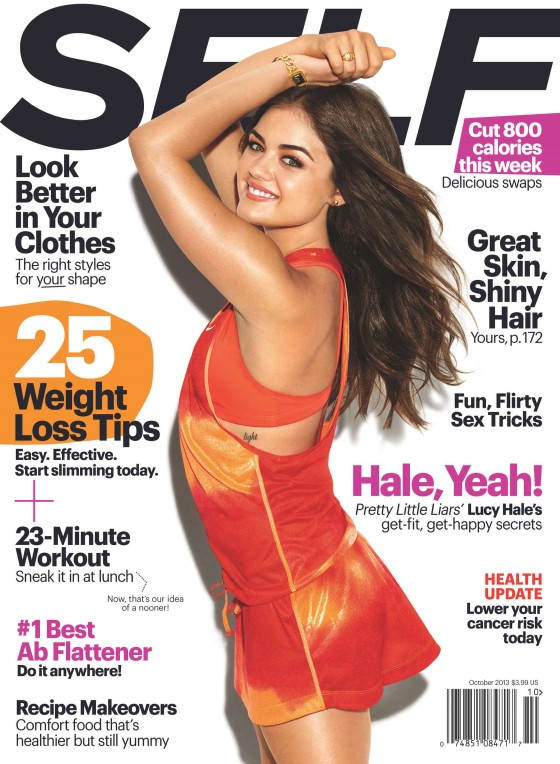 Lucy Hale Self Magazine (October 2013) -01