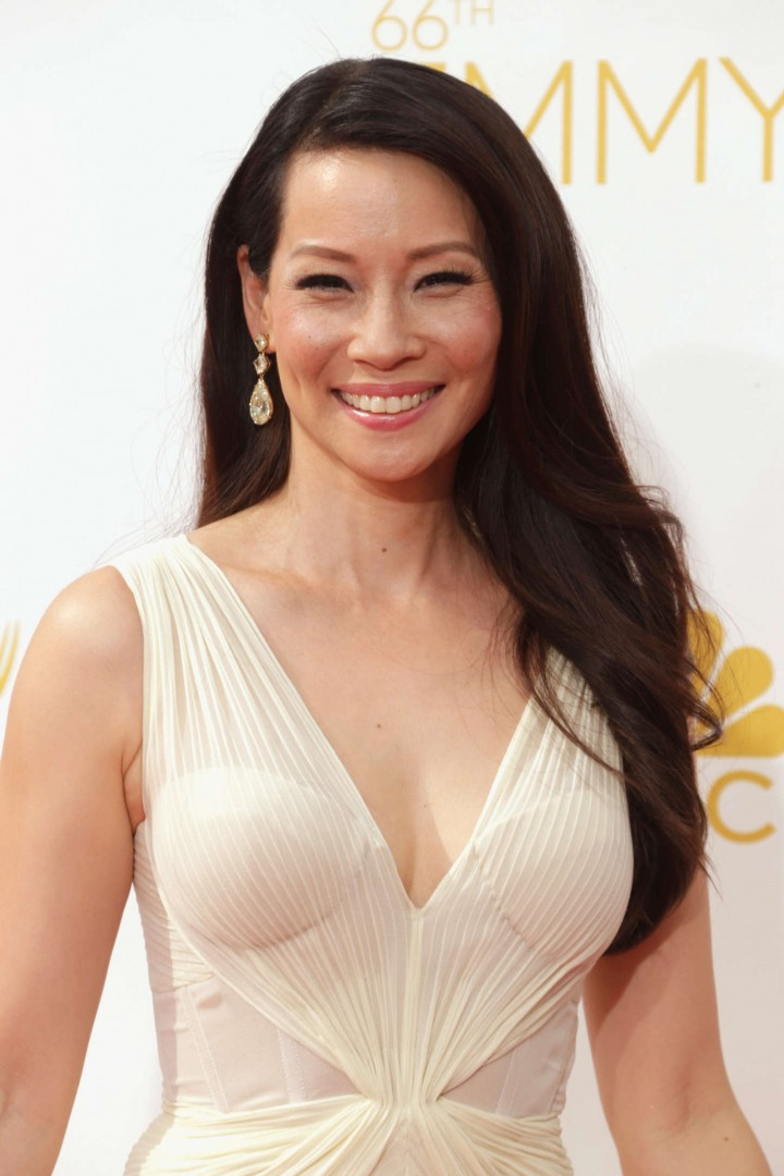 Lucy Liu - 66th annual Primetime Emmy Awards in LA