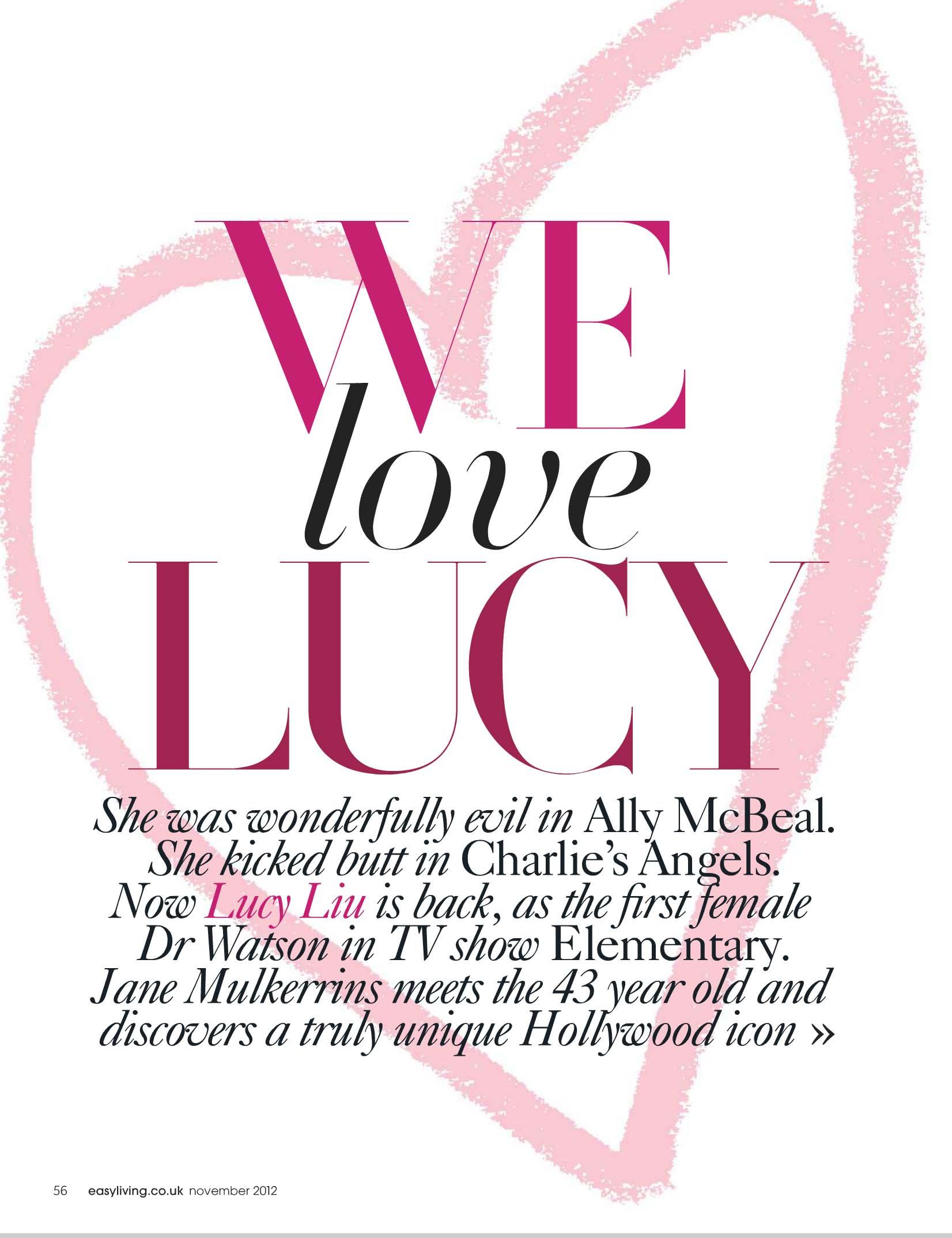 Lucy liu easy living 07 gotceleb for Easy living