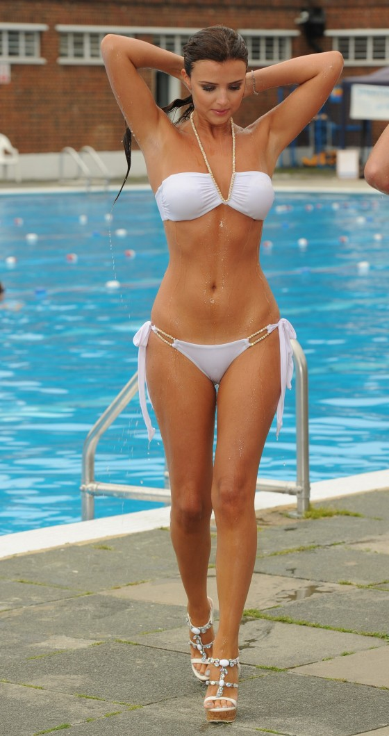 Lucy Mecklenburgh - Bikini Candids in London (HQ)