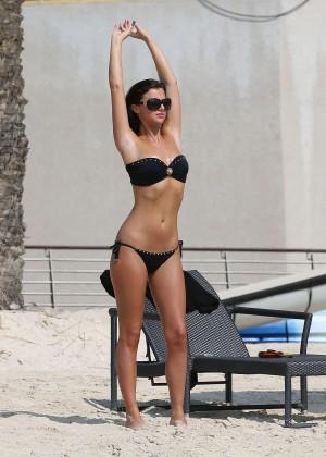 Lucy MecKlenburgh Bikini Photos: 2014 Candids in Dubai -01