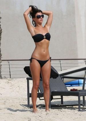 Lucy MecKlenburgh Bikini Photos: 2014 Candids in Dubai -02