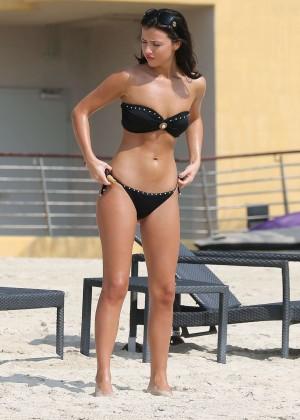 Lucy MecKlenburgh Bikini Photos: 2014 Candids in Dubai -07