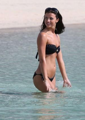 Lucy MecKlenburgh Bikini Photos: 2014 Candids in Dubai -08