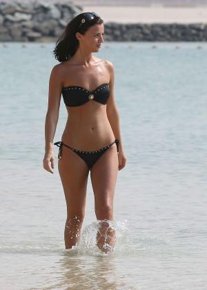 Lucy MecKlenburgh Bikini Photos: 2014 Candids in Dubai -09
