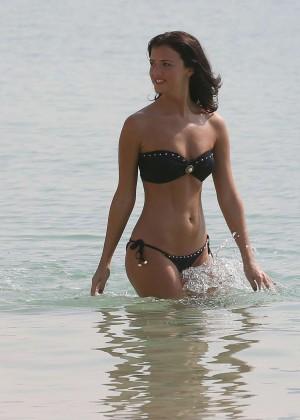 Lucy MecKlenburgh Bikini Photos: 2014 Candids in Dubai -12