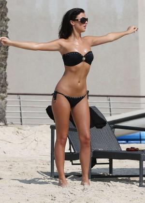 Lucy MecKlenburgh Bikini Photos: 2014 Candids in Dubai -14