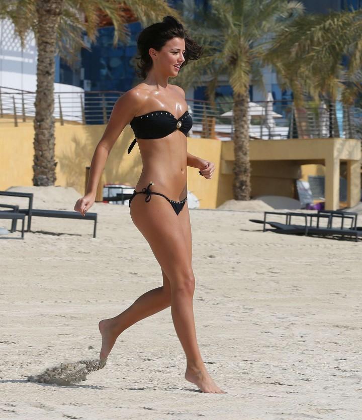 Lucy MecKlenburgh Bikini Photos: 2014 Candids in Dubai -19