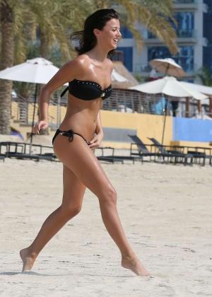 Lucy MecKlenburgh Bikini Photos: 2014 Candids in Dubai -20