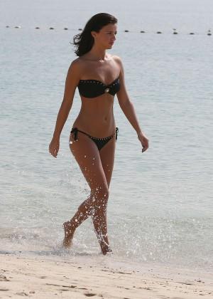 Lucy MecKlenburgh Bikini Photos: 2014 Candids in Dubai -21