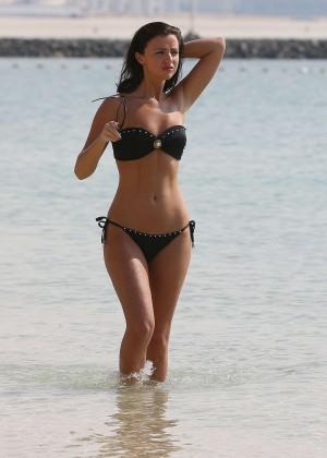 Lucy MecKlenburgh Bikini Photos: 2014 Candids in Dubai -22