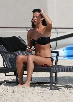 Lucy MecKlenburgh Bikini Photos: 2014 Candids in Dubai -25