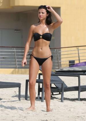 Lucy MecKlenburgh Bikini Photos: 2014 Candids in Dubai -27