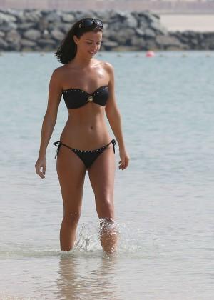 Lucy MecKlenburgh Bikini Photos: 2014 Candids in Dubai -33