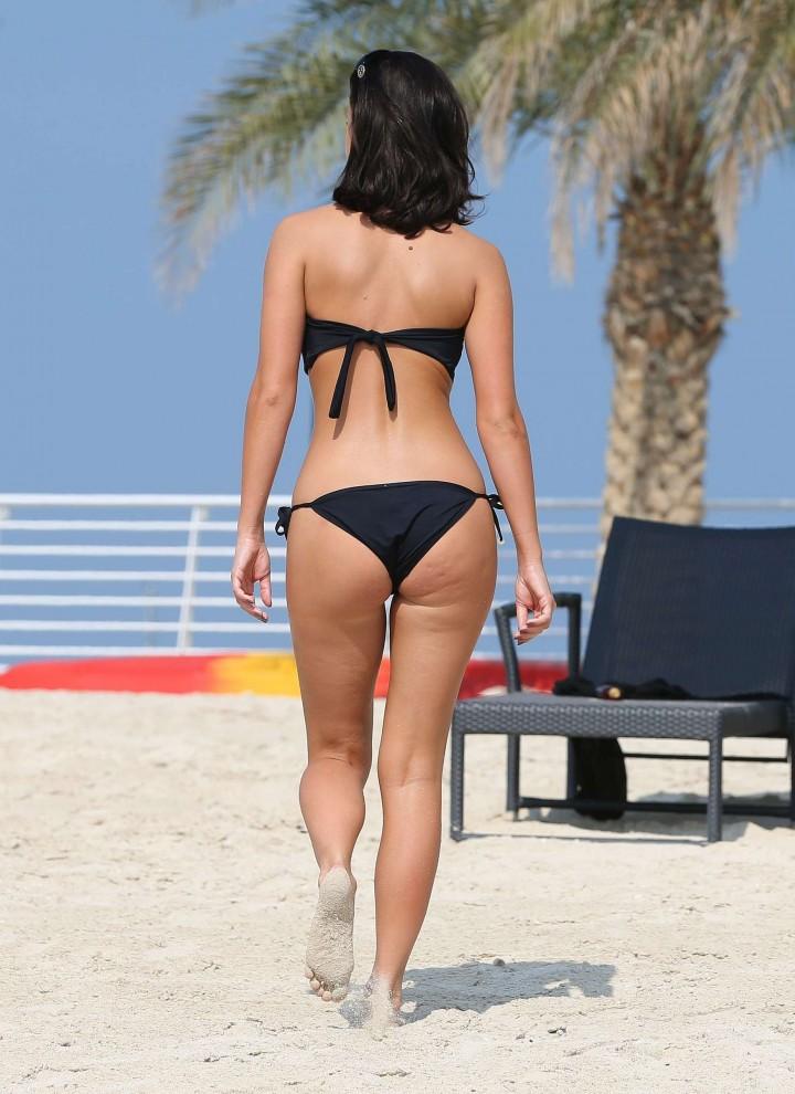Lucy MecKlenburgh Bikini Photos: 2014 Candids in Dubai -34