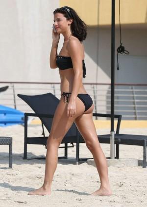 Lucy MecKlenburgh Bikini Photos: 2014 Candids in Dubai -36