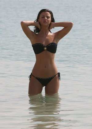 Lucy MecKlenburgh Bikini Photos: 2014 Candids in Dubai -40