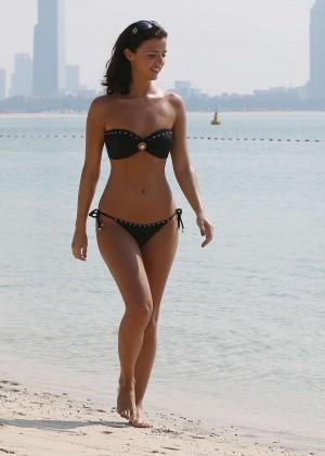 Lucy MecKlenburgh Bikini Photos: 2014 Candids in Dubai -46