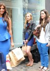 Lucy Mecklenburgh - in a Blue Dress - Launching Quidco Cashback Boutique Store-01