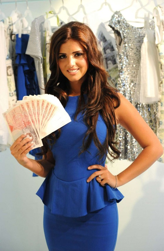 Lucy Mecklenburgh - Launching Quidco Cashback Boutique Store