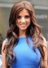 Lucy Mecklenburgh - in a Blue Dress - Launching Quidco Cashback Boutique Store-03