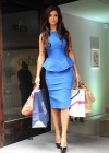 Lucy Mecklenburgh - in a Blue Dress - Launching Quidco Cashback Boutique Store-04